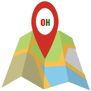 map thái hà
